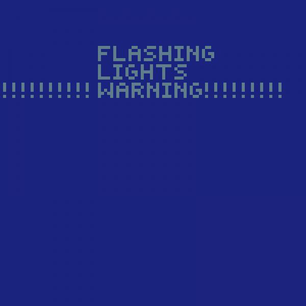 flashing lights warning