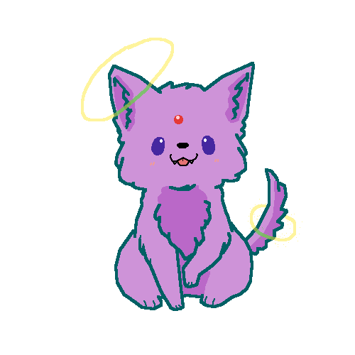 Espeon in dog form