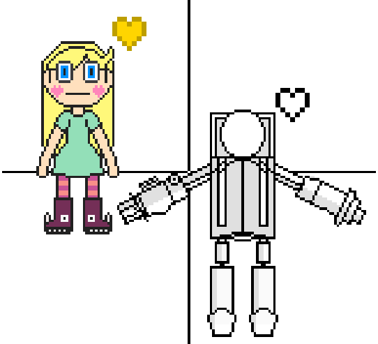 (HUGE W.I.P.) Butterfly Star and Heavy Armed Robot Capt