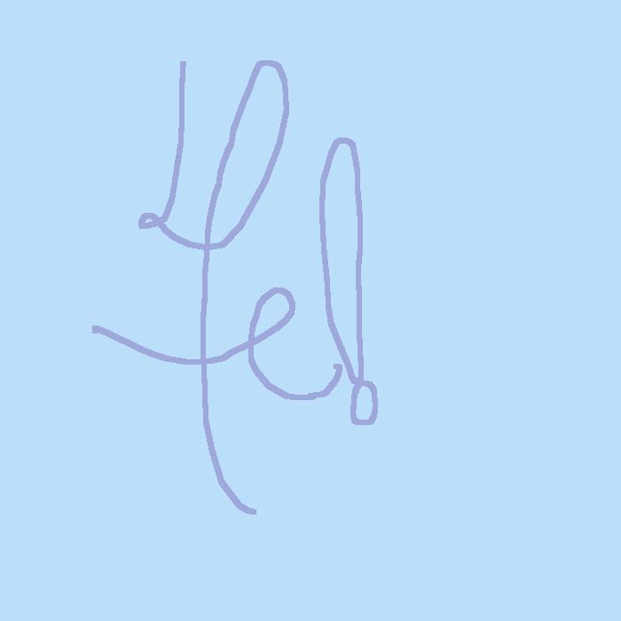 new signature for art