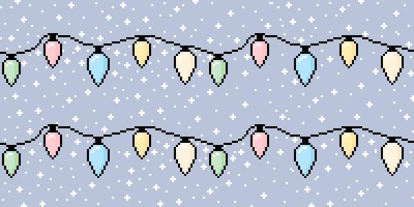 Snowy Christmas Lights