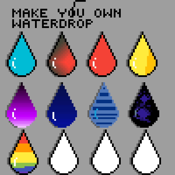 Make your own drop