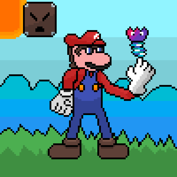 Mario's Adventure Pixel A