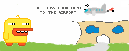 The Adventures of Duck and Air Piolet - Episode 1