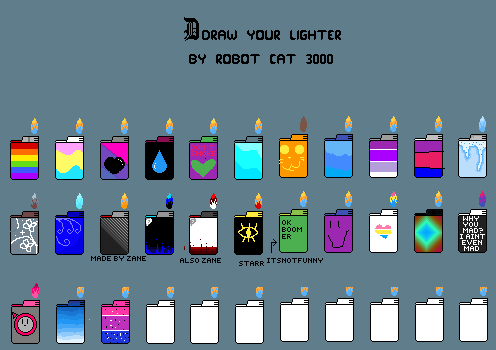 Make your lighter