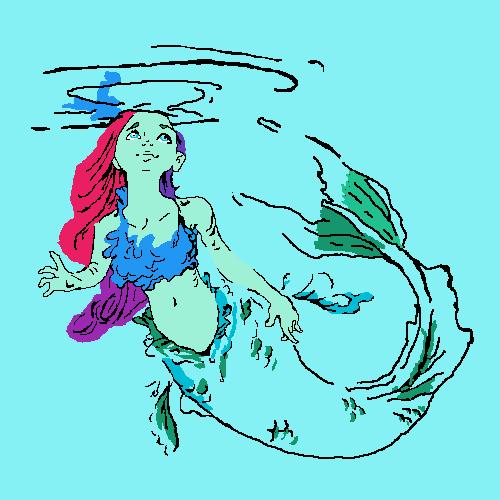 The sea girl