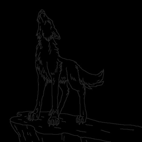 Wolf Howling (base)