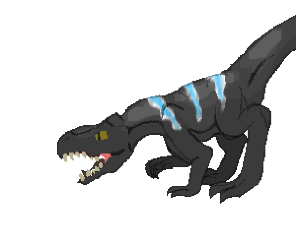 I don't know what to draw, so heres a dinosaur