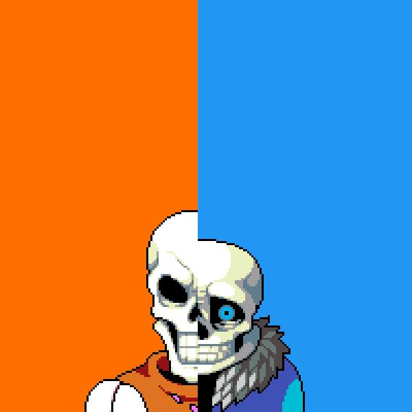 Sans vs Papyrus
