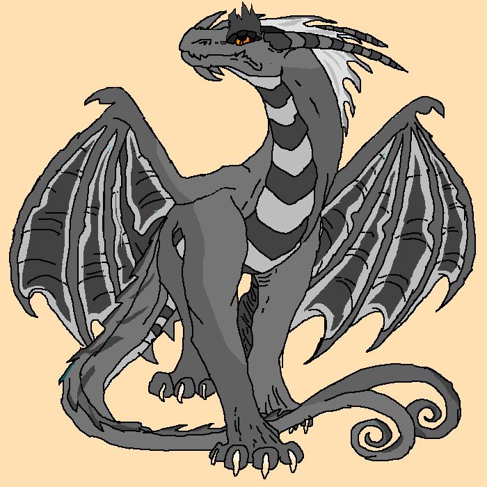 echo as a dragon :/
