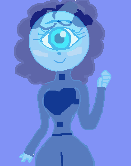 This is Cyclopsia she is adoptable if u can draw her in