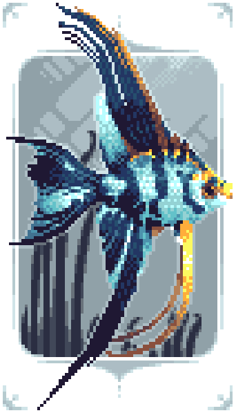Marble Veil Angelfish (Gift)