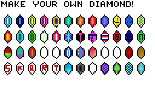 Make Your Own Diamond Collab
