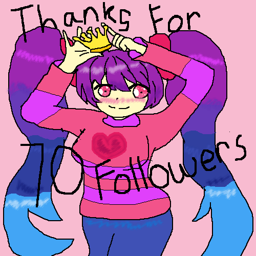 Thanks for 70 Followers !!!