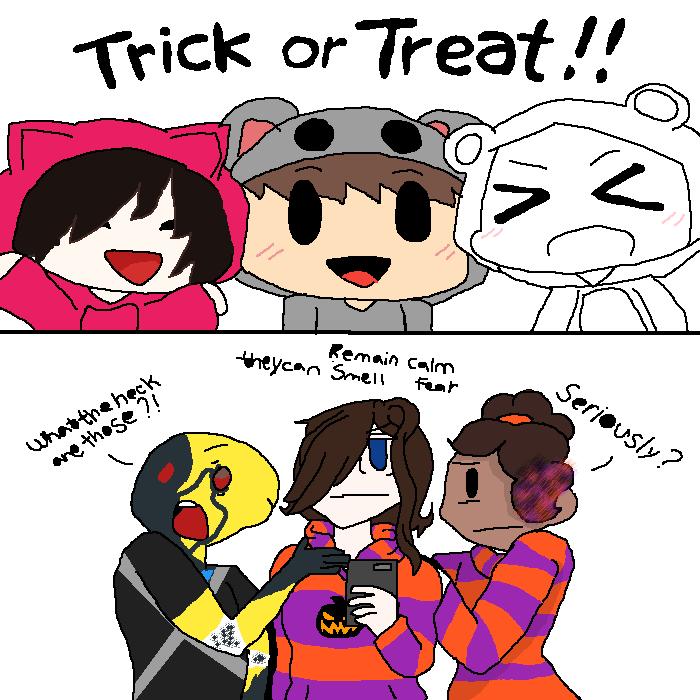Halloween collab