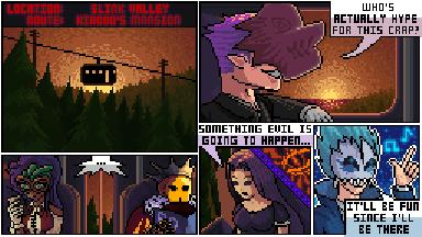 Pixilart Halloween Series: Page 1 of 29