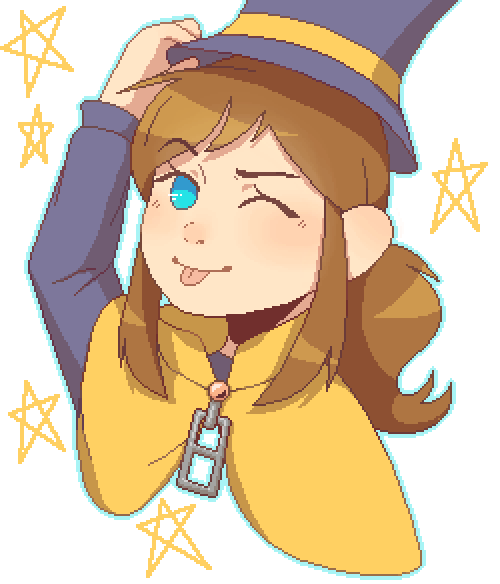 Hat Kid (For @CryoKimothy)
