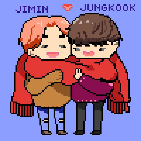 Jimin & Jungkook [winter time] <3