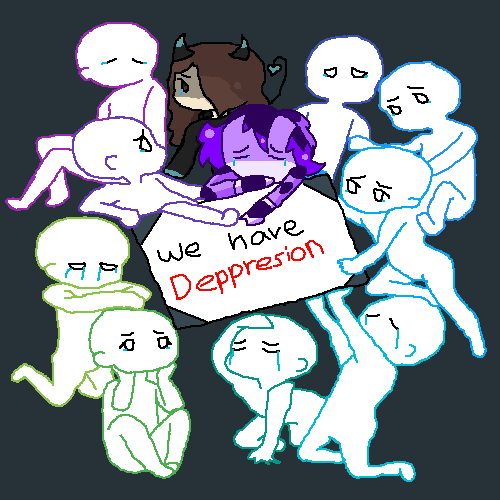 Hooray, depression....