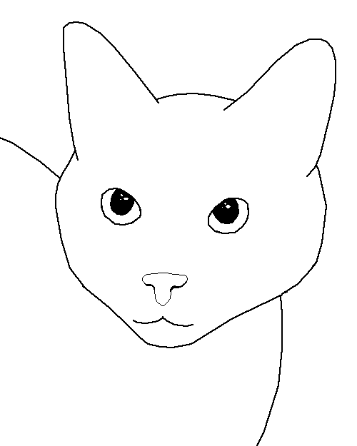 A Cat Face Base