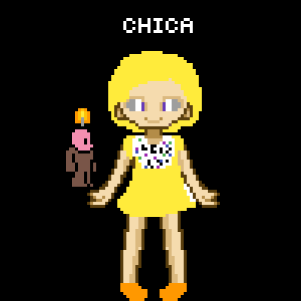 chica in real life