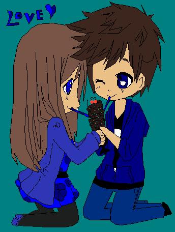 Me and my crush I wish!