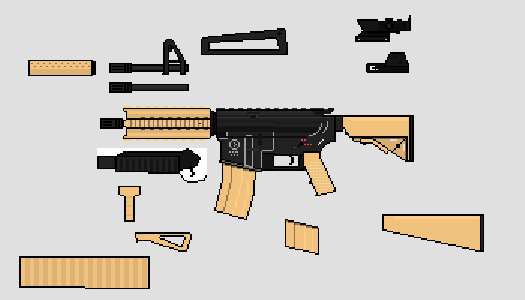 Create your own COLT M4