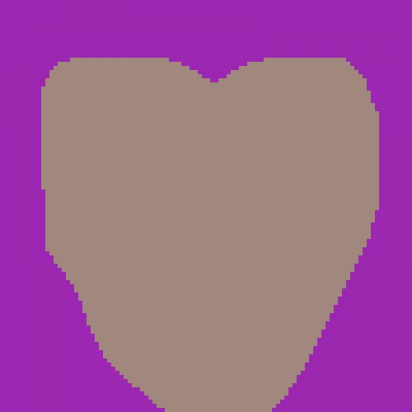 Hearts in alphebetical order
