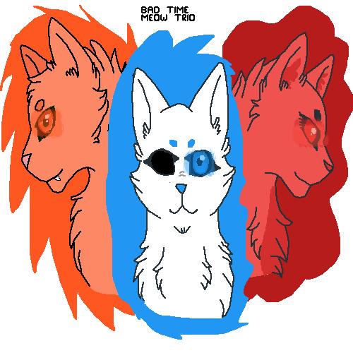 Bad time meow trio