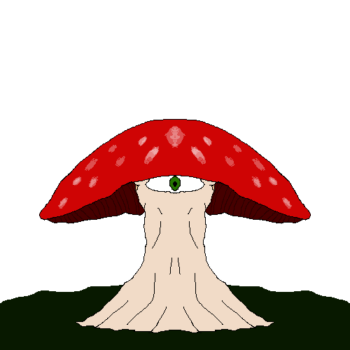 mushroom with an eye?