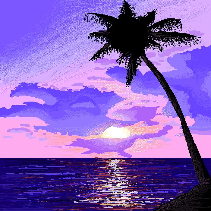 Purple Bahamas