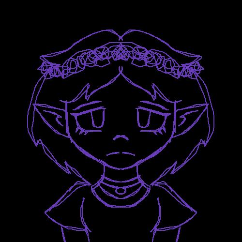Smol elf doodle