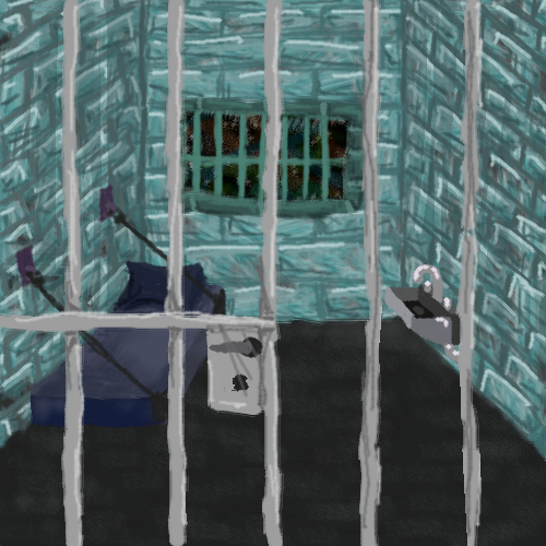 jail cell or whatever