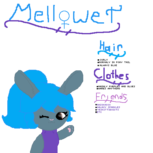 Mellowet ref sheet