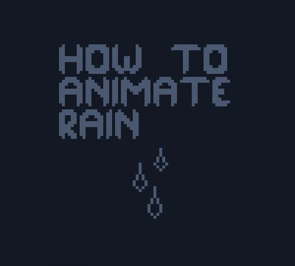 Rain Tutorial