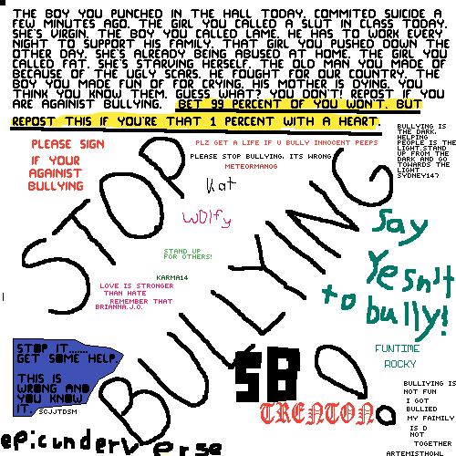 NO BULLIYING
