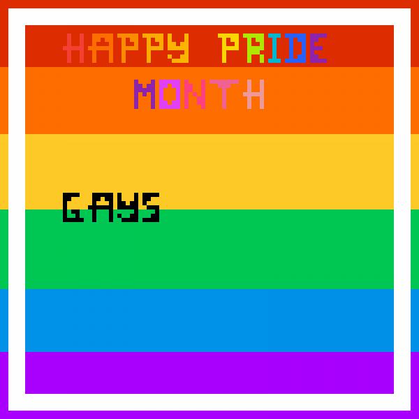 Pride month =D
