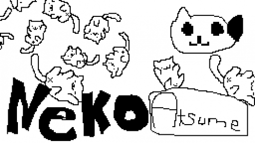 neko atsume color your kitties coloring page