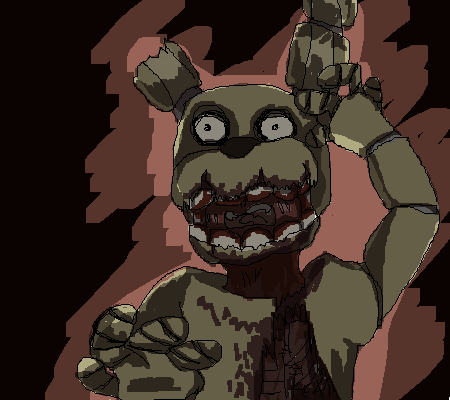 Pixilart - part 1 of the fnaf game im making by Robokat