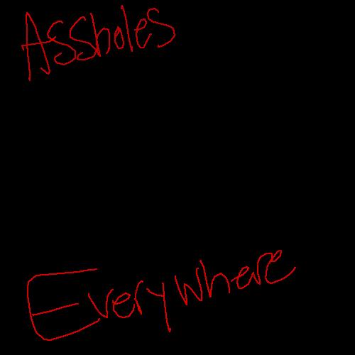 ASSHOLES everywhere