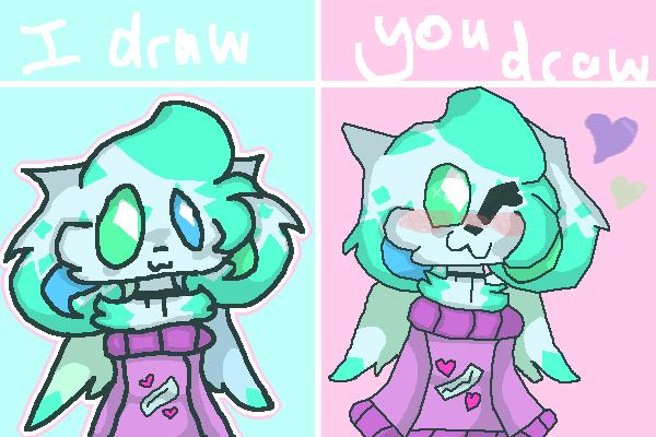 I draw you draw collab!