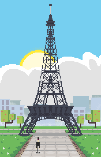 The Eiffel Tower(request)