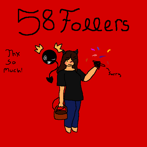 oofie 58 followers!