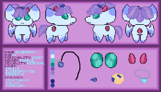 Blueberry Ref Sheet