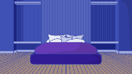 wip bedroom with slight shading