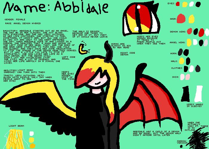 Abbidale Ref Sheet