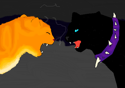 I'm done it is Scourge and Firestar