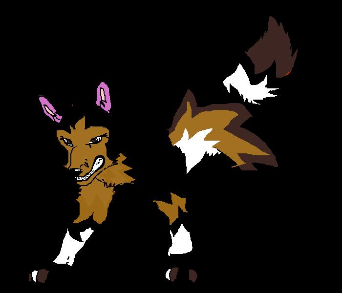 cute/evil wolf