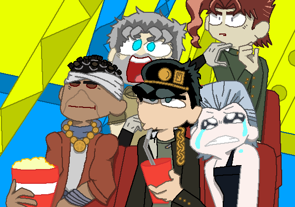 Stardust Crusaders At The Movies