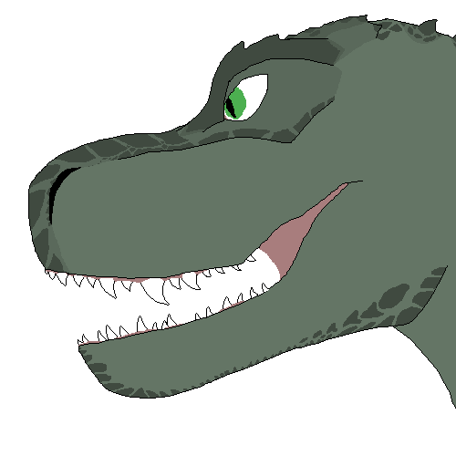 Redrew my dinosaur guy, Pericul